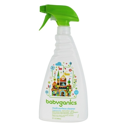 DROPPED: BabyGanics - All Purpose Cleaner The Grime Fighter Fragrance Free - 32 oz. CLEARANCE PRICED