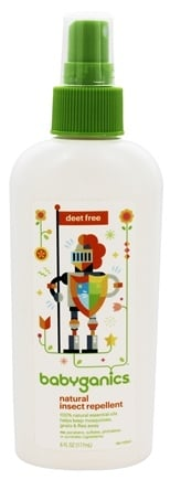 BabyGanics - Insect Repellent Natural & Deet Free - 6 oz.