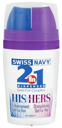 DROPPED: MD Science Lab - 2 in 1 His & Hers Premium Lubricants Dispenser - 25 ml. CLEARANCE PRICED