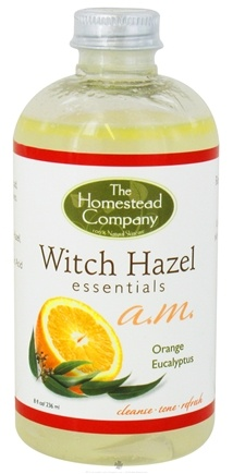 DROPPED: The Homestead Company - Witch Hazel Essentials AM Orange & Eucalyptus - 8 oz. CLEARANCE PRICED
