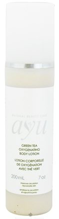 DROPPED: AYU Natural Beauty Care - Body Lotion Oxygenating Green Tea - 7 oz. CLEARANCE PRICED
