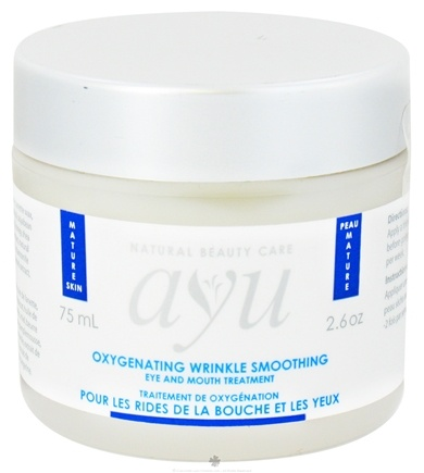 DROPPED: AYU Natural Beauty Care - Eye and Mouth Treatment Wrinkle Smoothing Oxygenating - 2.6 oz. CLEARANCE PRICED