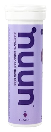 DROPPED: Nuun - Electrolyte Enhanced Drink Tabs Grape - 12 Tablets