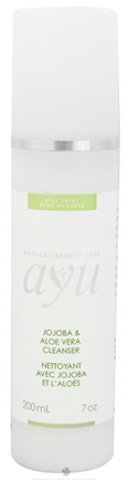 DROPPED: AYU Natural Beauty Care - Facial Cleanser Jojoba & Aloe Vera - 7 oz. CLEARANCE PRICED