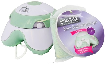 DROPPED: HoMedics - Mini Bath Massager with Reversible Attachment BA-10-9CTM - CLEARANCE PRICED