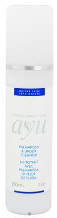 DROPPED: AYU Natural Beauty Care - Facial Cleanser Palmarosa & Linden - 7 oz. CLEARANCE PRICED