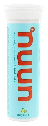 Nuun - Electrolyte Enhanced Drink Tabs Tropical - 12 Tablets