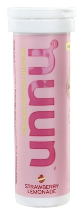 Nuun - Electrolyte Enhanced Drink Tabs Strawberry Lemonade - 12 Tablets