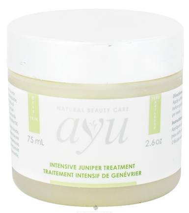 DROPPED: AYU Natural Beauty Care - Intensive Juniper Treatment - 2.6 oz. CLEARANCE PRICED
