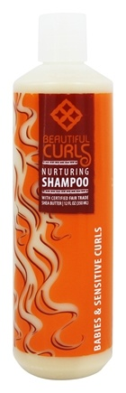 Alaffia - Beautiful Curls Nurturing Shampoo for Babies & Sensitive Curls - 12 oz.