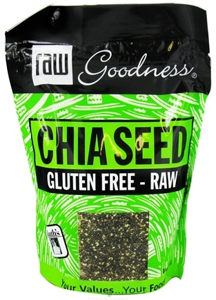 DROPPED: Ruth's Hemp Foods - Raw Goodness Chia Seed - 14 oz.