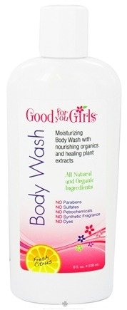 DROPPED: Good For You Girls - Natural Body Wash Fresh Citrus - 8 oz. CLEARANCE PRICED