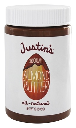 DROPPED: Justin's Nut Butter - Almond Butter Chocolate - 16 oz.
