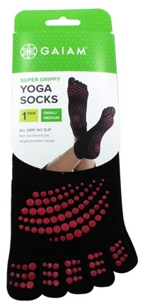 Gaiam - Yoga Socks Small/Medium Pink