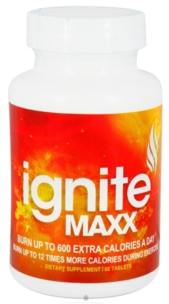 DROPPED: Lazer Health - Ignite Maxx with Raspberry Ketones & Capsicum Extract - 60 Tablets CLEARANCE PRICED