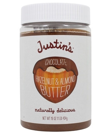 Justin's Nut Butter - Hazelnut Butter Blend Chocolate - 16 oz.