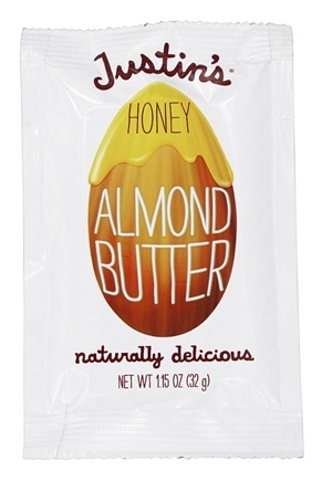 Justin's Nut Butter - Almond Butter Squeeze Pack Honey - 1.15 oz.