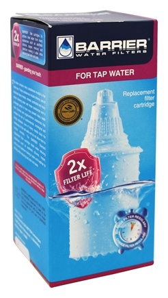 New Wave Enviro Products - Barrier Water Pitcher Standard Filter Replacement Cartridge - 1 Pack
