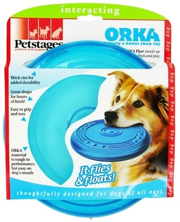 DROPPED: Petstages - Orka Flyer Dog Toy - CLEARANCE PRICED