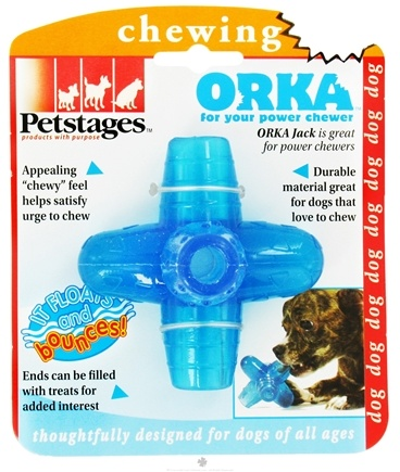 DROPPED: Petstages - Orka Jack Dog Toy Small - CLEARANCE PRICED