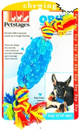 DROPPED: Petstages - Orka Pinecone Dog Toy - CLEARANCE PRICED