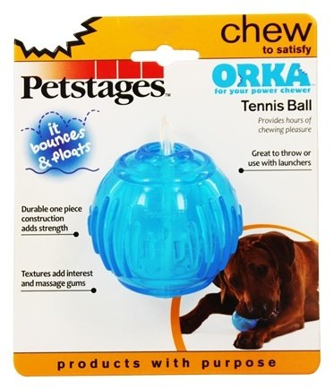 DROPPED: Petstages - Orka Tennis Ball Dog Toy