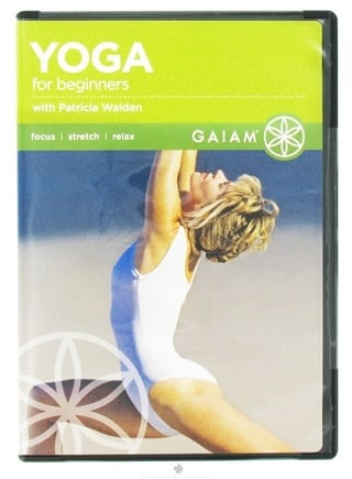 DROPPED: Gaiam - Yoga for Beginners with Patricia Walden DVD - CLEARANCE PRICED