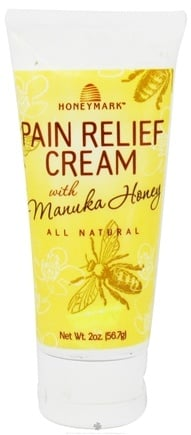 DROPPED: Honeymark - Pain Relief Cream with Manuka Honey - 2 oz.