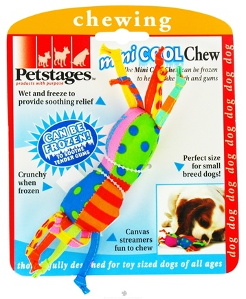 DROPPED: Petstages - Mini Cool Chew Dog Toy - CLEARANCE PRICED