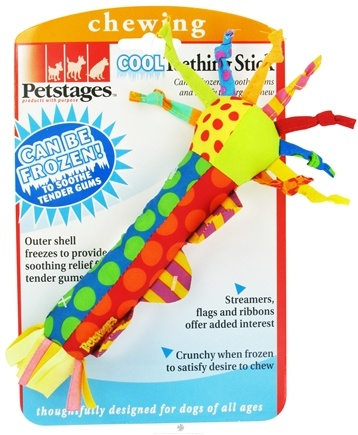 DROPPED: Petstages - Cool Teething Stick Dog Toy - CLEARANCE PRICED