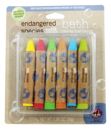 Health Science Labs - Endangered Species Bath Crayons - 6 Pack