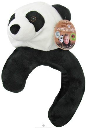 DROPPED: Health Science Labs - Endangered Species Travel Buddy Neck Pillow and Blanket Giant Panda - CLEARANCE PRICED