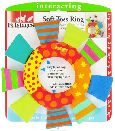 DROPPED: Petstages - Soft Toss Ring Dog Toy - CLEARANCE PRICED