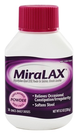 DROPPED: MiraLax - Laxative Powder for Solution - 8.3 oz.