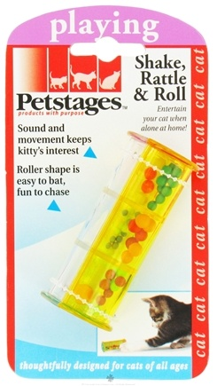 DROPPED: Petstages - Shake, Rattle & Roll Cat Toy - CLEARANCE PRICED