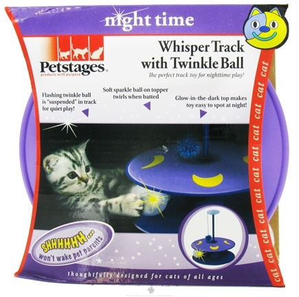 DROPPED: Petstages - Whisper Track with Twinkle Ball Cat Toy - CLEARANCE PRICED