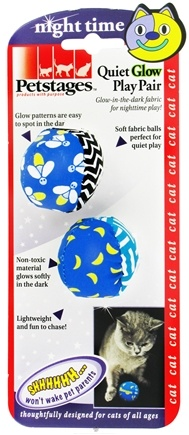 DROPPED: Petstages - Quiet Glow Play Pair Cat Toy - CLEARANCE PRICED