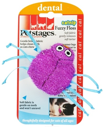 DROPPED: Petstages - Catnip Fuzzy Floss Cat Toy - CLEARANCE PRICED