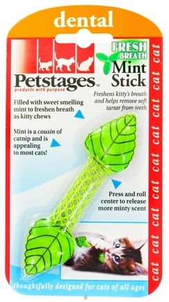 DROPPED: Petstages - Fresh Breath Mint Stick Cat Toy - CLEARANCE PRICED