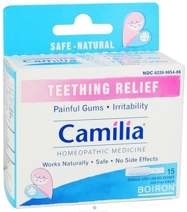 DROPPED: Boiron - Camilia Homeopathic Medicine for Teething Relief - 15 Dose(s)