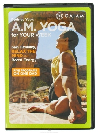 DROPPED: Gaiam - Rodney Yee's AM Yoga for Your Week DVD - CLEARANCE PRICED