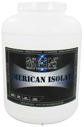 DROPPED: Muscle Gauge Nutrition - American Isolate Whey Protein Chocolate Peanut Butter - 5 lbs.
