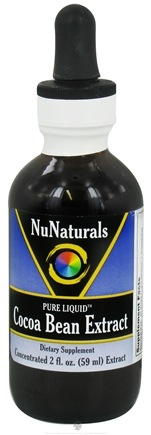 NuNaturals - Pure Liquid Cocoa Bean Extract - 2 oz.