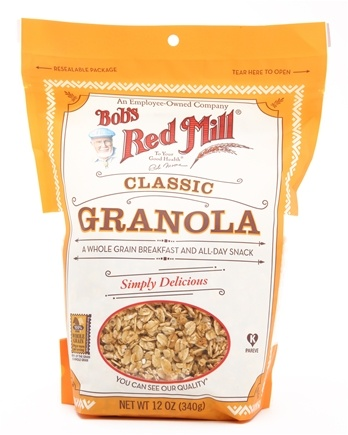 DROPPED: Bob's Red Mill - Granola Original Whole Grain Natural - 12 oz. CLEARANCE PRICED