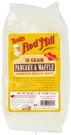 DROPPED: Bob's Red Mill - Pancake & Waffle Whole Grain Mix 10 Grain - 26 oz. CLEARANCE PRICED