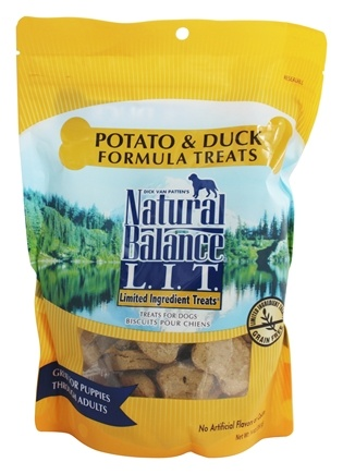 Natural Balance Pet Foods - L.I.T. Limited Ingredient Treats For Dogs Potato & Duck - 14 oz.