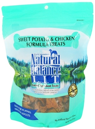 DROPPED: Natural Balance Pet Foods - L.I.T. Limited Ingredient Treats For Dogs Sweet Potato & Chicken - 14 oz. CLEARANCE PRICED