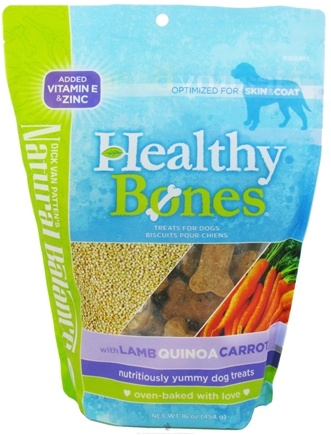DROPPED: Natural Balance Pet Foods - Healthy Bones Dog Treats Lamb, Quinoa, Carrot - 16 oz.