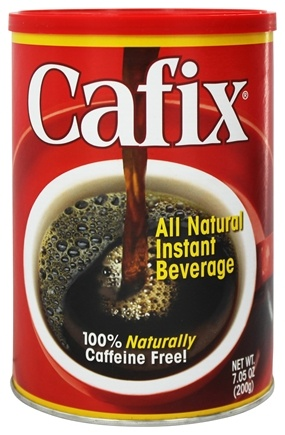 Cafix - Instant Beverage Coffee Substitute All Natural - 7.05 oz.