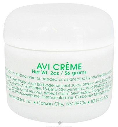 DROPPED: Bezwecken - Avi Creme - 2 oz. CLEARANCE PRICED